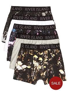 river-island-boys-black-floral-print-trunks-multipack