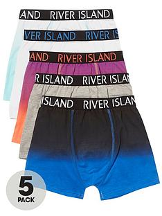 river-island-boys-blue-marl-ri-branded-trunks-multipack