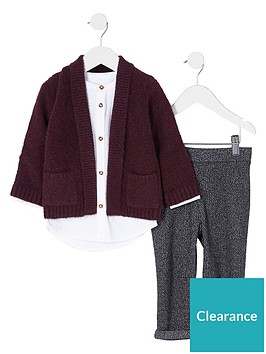 river-island-mini-boys-red-cardigan-and-white-shirt-outfit