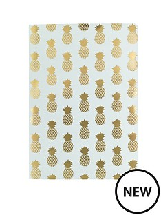 go-stationery-pineapple-a5-notebook