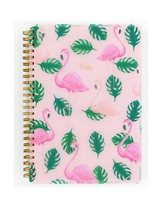 go-stationery-flamingo-a5-polyprop-notebook