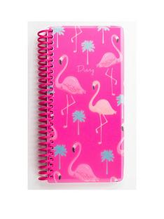 go-stationery-flamingo-slim-2018-full-year-diary