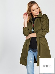 v-by-very-petite-ruffle-detail-trench-coat