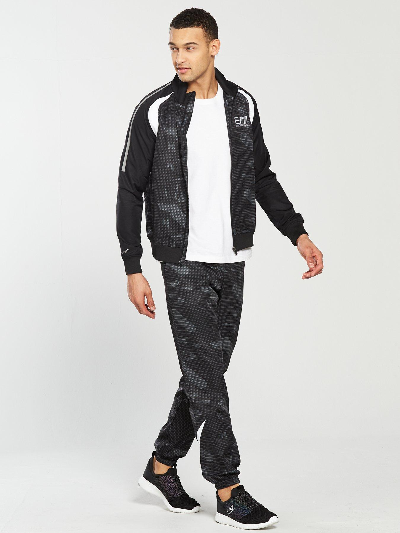 cheap mens ea7 tracksuit