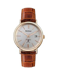 barbour-bb069slbr-bamburgh-tan-leather-strap-watch