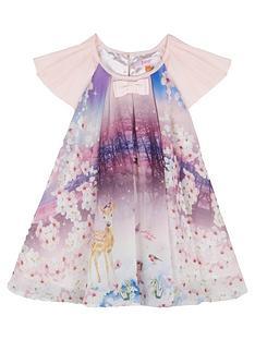 baker-by-ted-baker-girls039-multi-coloured-woodland-scene-pleated-dress