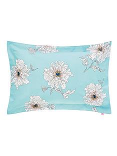 joules-linear-peony-100-cotton-percale-180-thread-count-oxford-pillowcase