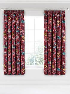 va-oriental-peony-pencil-pleated-curtains