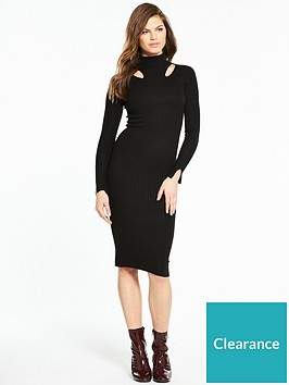 river-island-bodyfit-dress--black