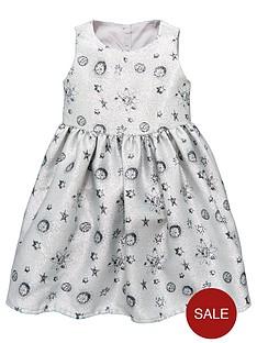 mini-v-by-very-girls-metallicnbspsilver-space-print-dress