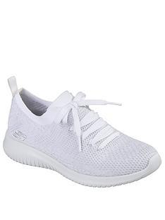 skechers-ultra-flex-salutations-lace-up-trainer-whitenbsp