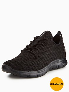 skechers-flex-appeal-20-estates-trainer-black