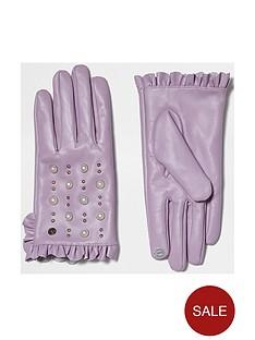 river-island-purple-frill-stud-glove