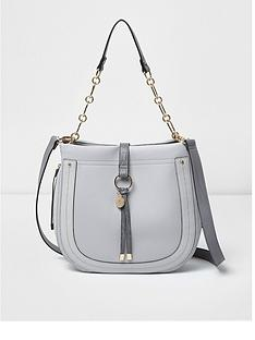 river-island-river-island-grey-tab-over-scoop-slouch-bag