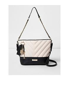 river-island-black-quilted-bucket-bag