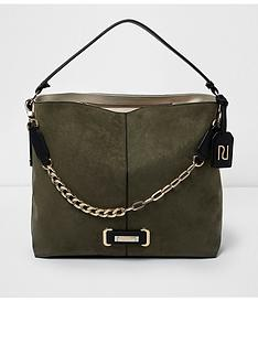 river-island-river-island-black-chain-front-slouch-bag