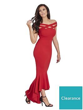 jessica-wright-giovanna-hi-low-maxi-dress-red
