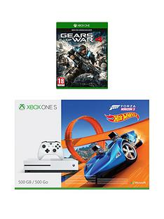 xbox-one-xbox-one-s-500gb-console-with-forza-horizon-3-hot-wheels-and-gears-of-war-4-12-months-live
