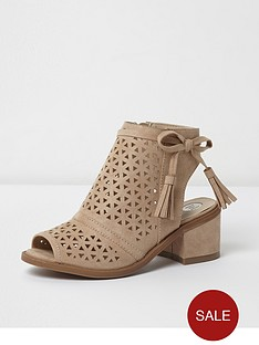 river-island-lazer-cut-tassel-shoe-boot