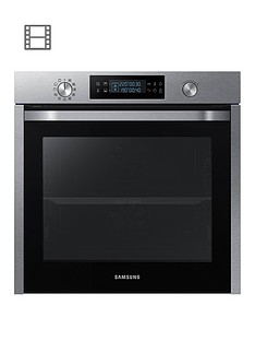 samsung-nv75k5571rseu-60cmnbspsingle-electric-oven-with-dual-cooknbsp--stainless-steel