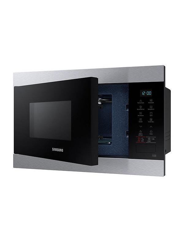 Mg22m8074at Eu 22 Litre Built In Grill Microwave With Smart Humidity Sensor Stainless Steel
