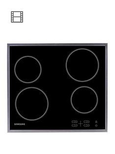 samsung-c61r1aamstxeu-60cmnbspceramic-electric-hob-with-residual-heat-indicator-black
