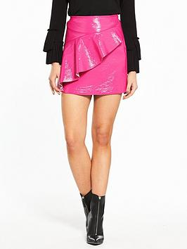 Vinyl Mini Island River Fuscia Skirt For Sale Cheap Price Shop For Buy Cheap Pay With Visa aqL3AYf