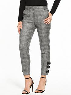 river-island-river-island-check-bow-hem-cigarette-trousers