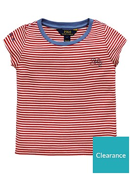 ralph-lauren-girls-short-sleeve-stripe-t-shirt-creamred