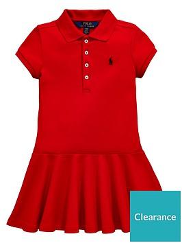 ralph-lauren-girls-short-sleeve-polo-dress-red
