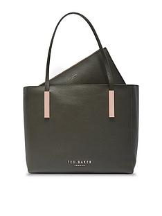 ted-baker-large-leather-shopper-khakinbsp