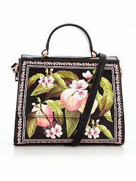 ted-baker-peach-blossom-crosshatch-small-tote