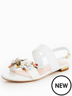 dune-kiko-flower-garden-two-band-sandal-white