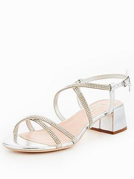 Dune London MASIEY - Sandals - silver VsHC2LwP