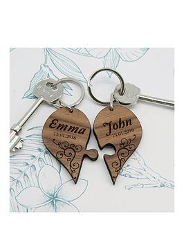 treat-republic-personalised-couples-romantic-joining-heart-keyring