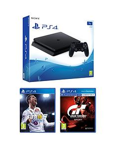 playstation-4-1tb-black-slim-console-with-fifa-18-gt-sport-365-psn-subscription-and-extra-dualshock-controller