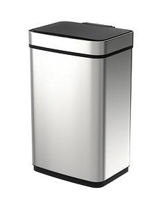 morphy-richards-pro-60-litre-rectangular-sensor-bin-ndash-stainless-steel