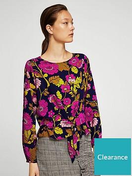 mango-floral-print-shell-top