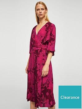 mango-wrap-print-dress