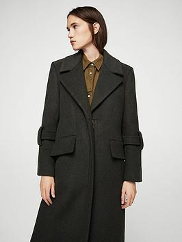 Recommend Outlet Collections Coat Style Mango Military NL8jy