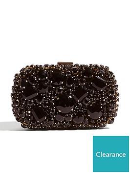 karen-millen-jewelled-box-clutch-bag