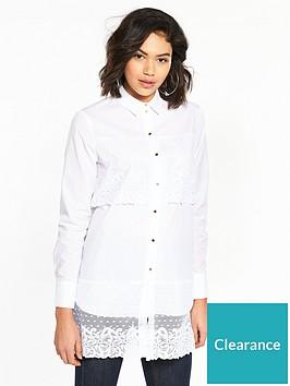 river-island-lace-panel-shirt--white