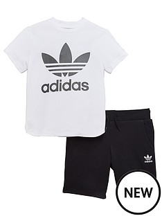 adidas-originals-younger-boys-trefoil-short-set