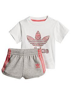 Adidas Originals Addias Baby Short Set