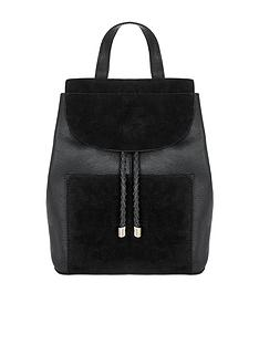 accessorize-cara-leather-black-backpack-black