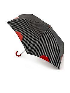 lulu-guinness-lulu-guinness-superslim-pinstripe-lip-umbrella