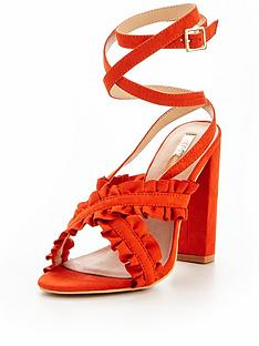 lost-ink-lost-ink-ruffle-cross-strap-heeled-sandal