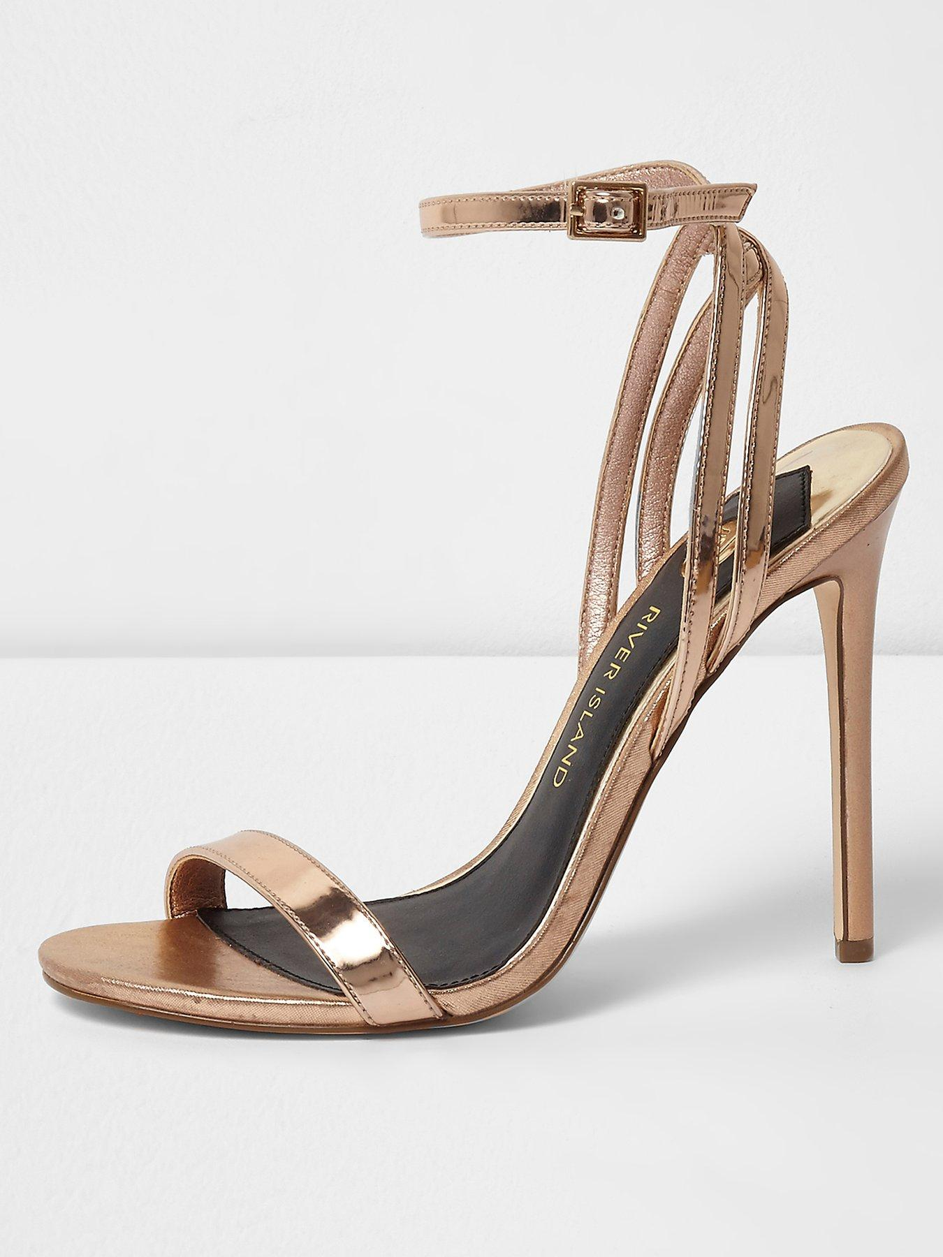 River Island Simple Barely There Sandal 1600220668 Women's Shoes River Island Heels