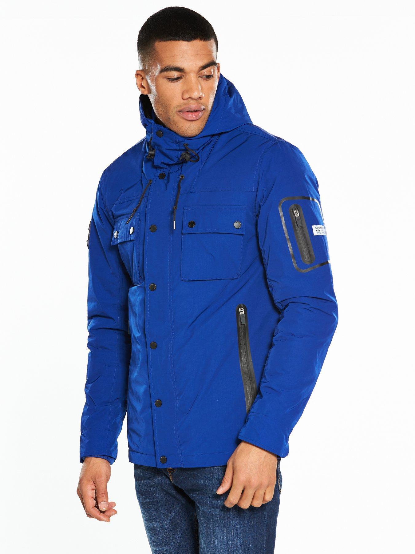 2019 clearance sale distinctive design speical offer Blue Superdry Jackets Littlewoodsireland amp; ie Coats Men ...