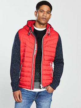 Storm Superdry Ziphood Hybrid Outlet Fake Clearance Manchester Great Sale KNczWm